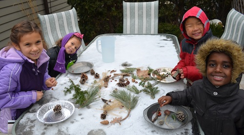 Winter Crafts for Kids Ice Nature- Kid World Citizen