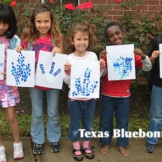 Texas Bluebonnet Craft- Kid World Citizen