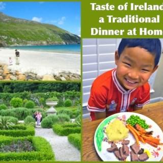 Irish Dinner at Home- Kid World Citizen