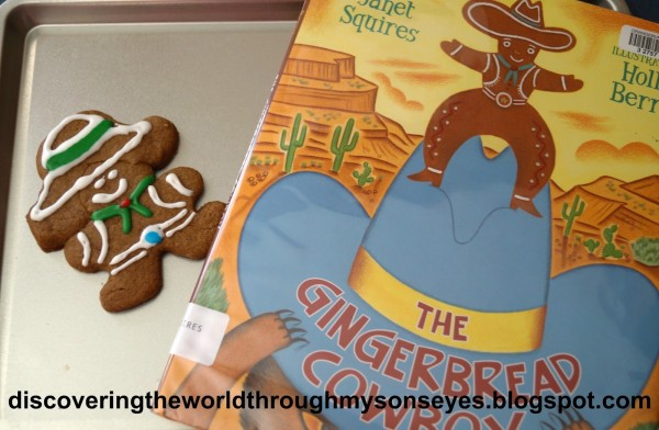 Gingerbread Stories Cowboy- Kid World Citizen