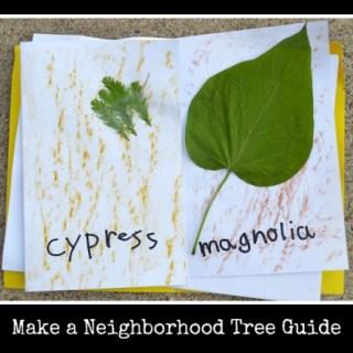 Make a Neighborhood Tree Guide