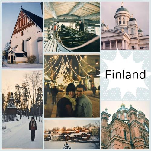 Finland Collage Photos- Kid World Citizen