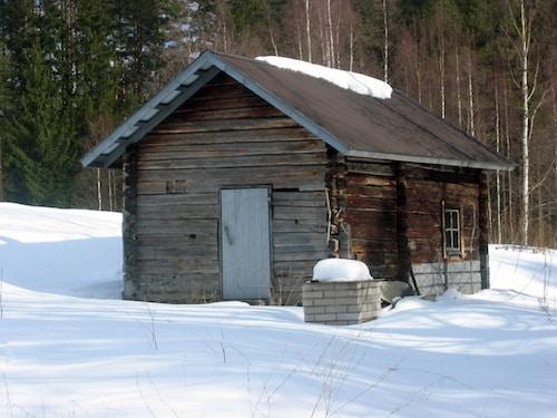 Smoke sauna in sauna building in Enonkoski, Finland- Kid World Citizen