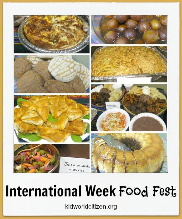 International Week Food Festival- Kid World Citizen