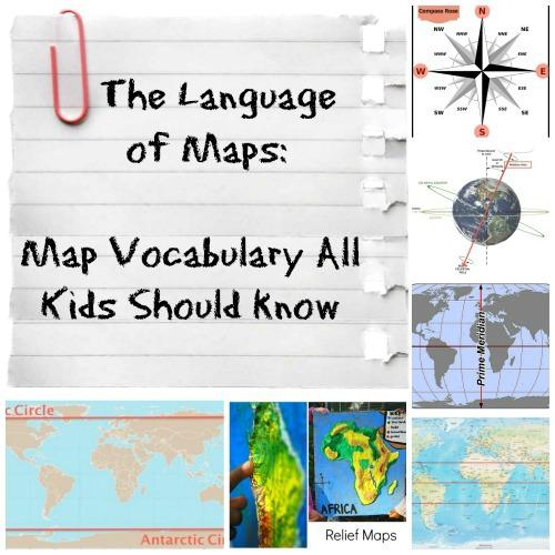 Language of Maps Social Studies Kids- Kid World Citizen