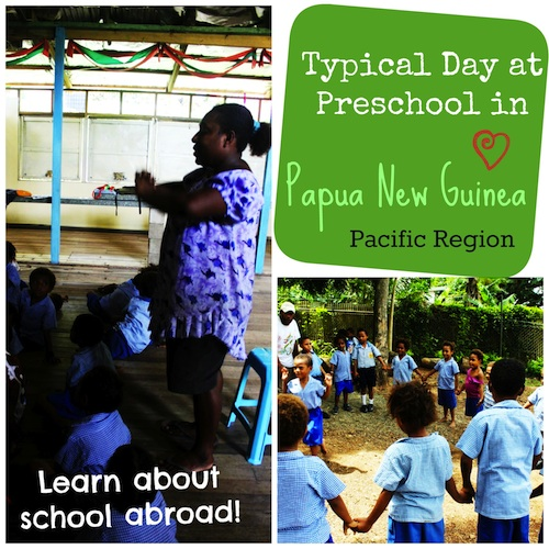 School Papua New Guinea- Kid World Citizen