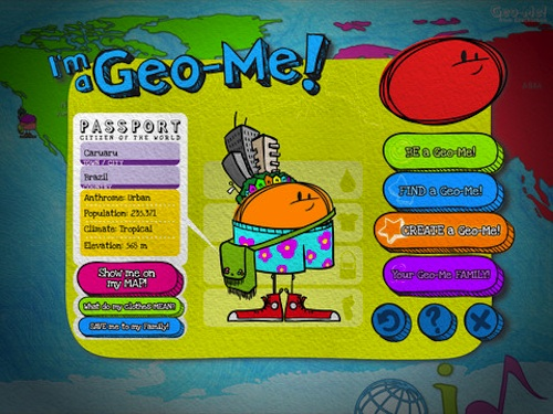 Map Games for Kids ipad- Kid World Citizen