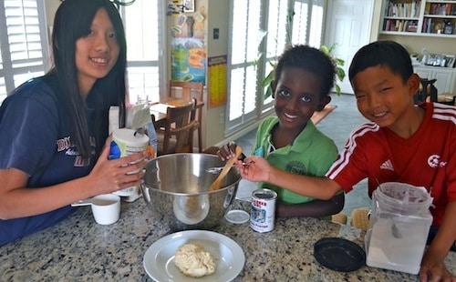 Making Maori Fry Bread- Kid World Citizen