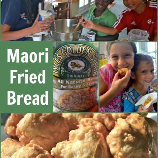 Maori Fried Bread- A New Zealand Treat! + Kiwi Recipe Link-up