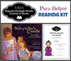 Belpre Reading Kit - Hispanic Heritage Month Blog Hop - Multiculturalkidblogs.com