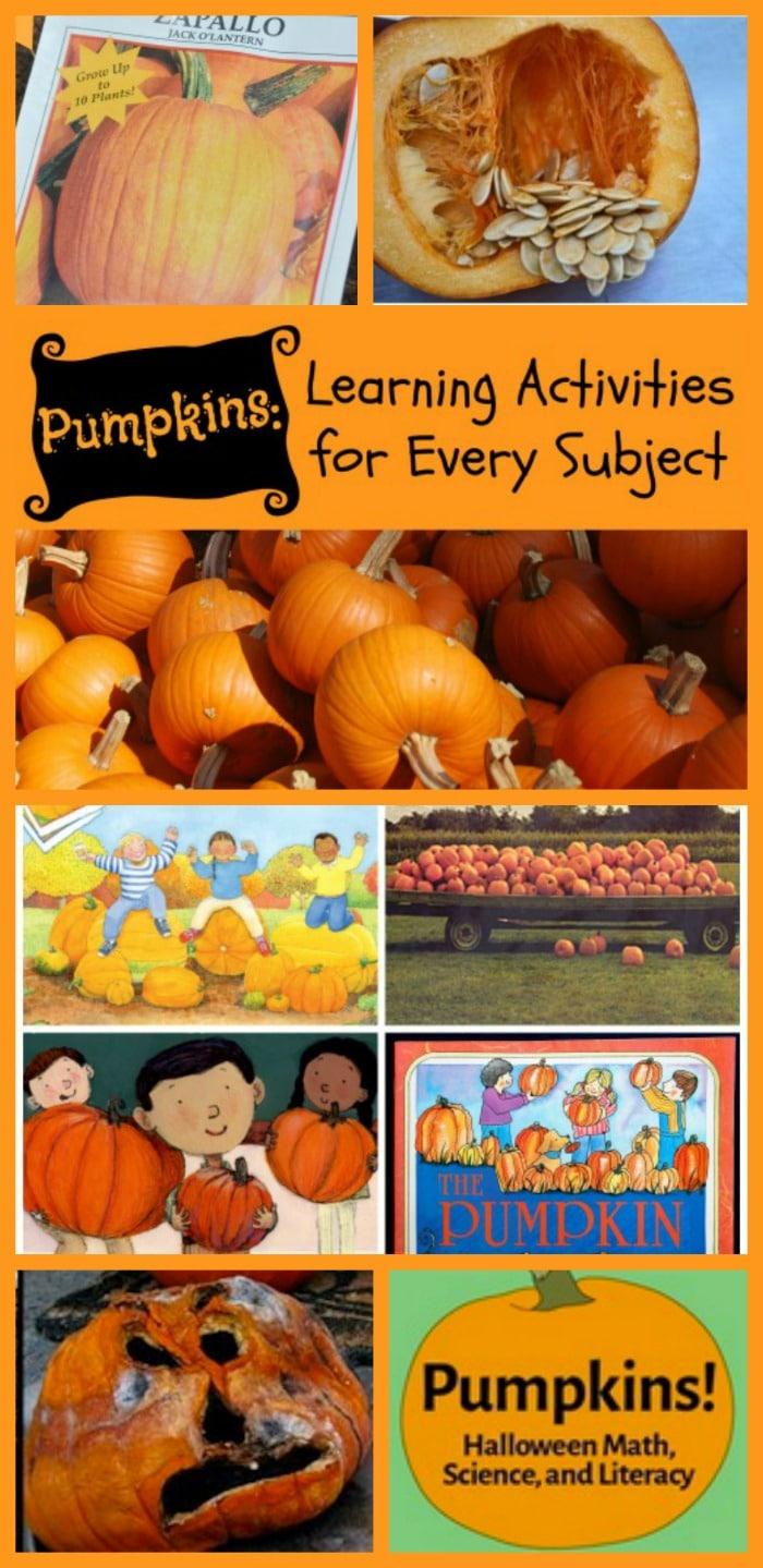 Pumpkin Learning Activities Kids- Kid World Citizen