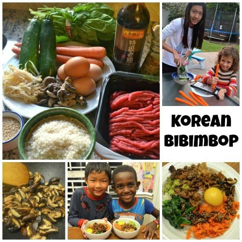 Bibimbop Korean Food Kids- Kid World Citizen