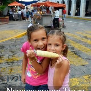Merida, Mexico Street- Kid World Citizen