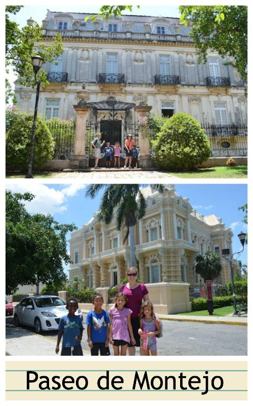 Paseo de Montejo, Merida, Mexico- Kid World CItizen