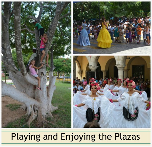 Playing in Merida- Kid World Citizen