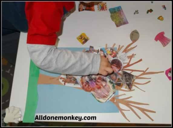 Make a Unity Tree for Birth of Baha'u'llah - Alldonemonkey on Kid World Citizen