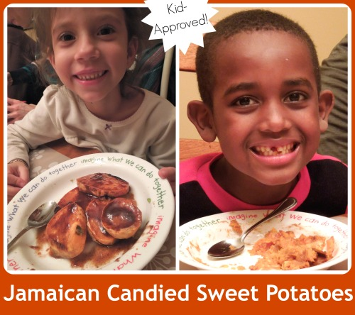 Jamaican Candied Sweet Potatoes- Kid World CItizen