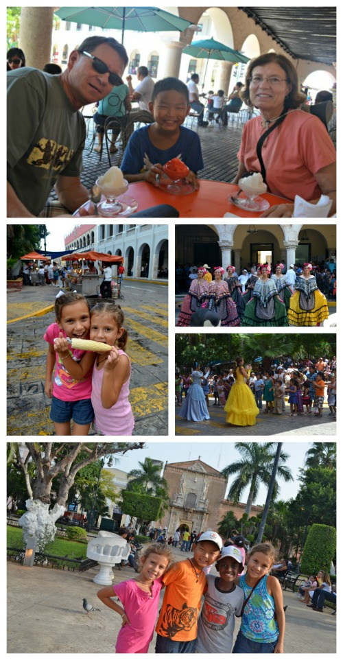 Centro Historico Merida Mexico- Kid World Citizen