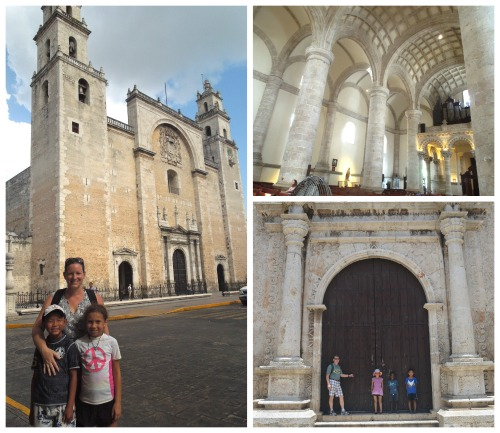 Catedral Merida Meixoc- Kid World Citizen