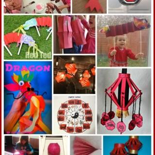 Chinese New Year Family Craft Chicken