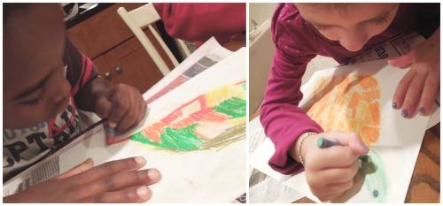 Sea Turtle Art Project for kids- Kid World Citizen