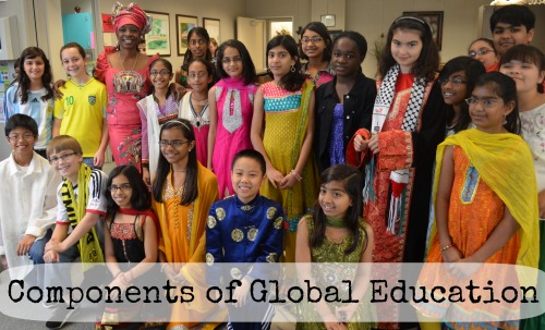 Components of Global Education- Kid World Citizen