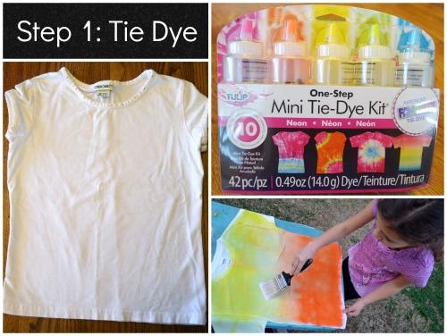 Tie Dye Kids African Sunset- Kid World Citizen
