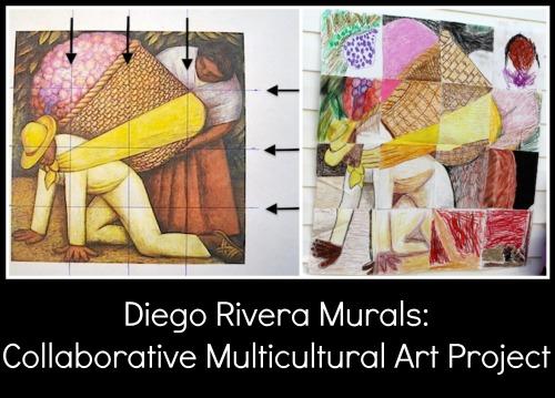 Diego Rivera Collaborative Multicultural Art Project