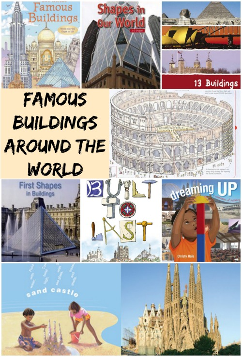 Famous Buildings Around the World Architecture for Kids- Kid World Citizen