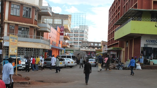 Nyeri Kenya Town- Kid World Citizen