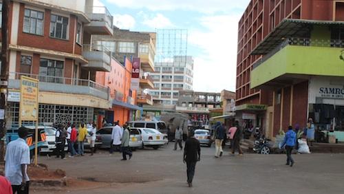 Nyeri Kenya Town- Kid World Citizen
