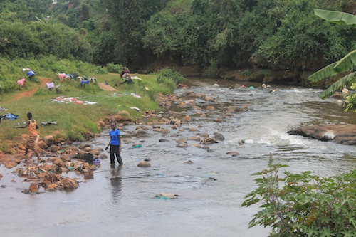 Washing Clothes Kenya- Kid World Citizen