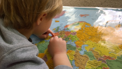 Geography for Kids from Home- Kid World Citizen