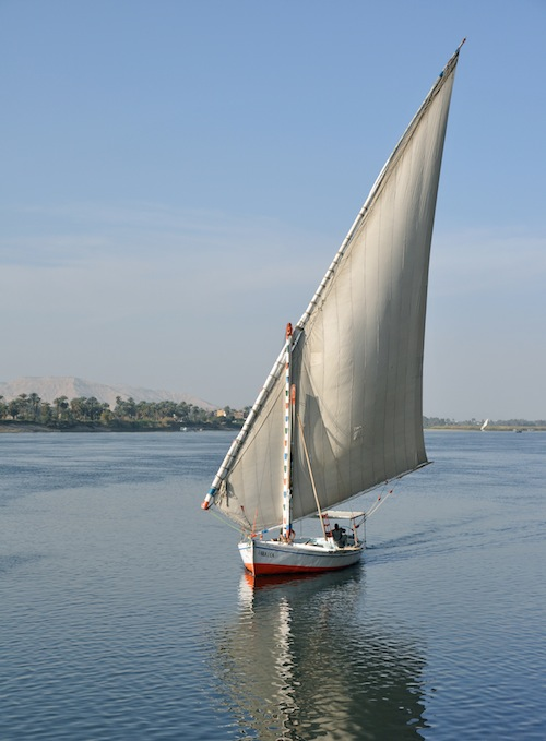 Felucca Nile River Egypt Vacation- Kid World Citizen
