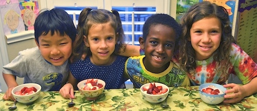 Skyr with Strawberries Kids- Kid World Citizen