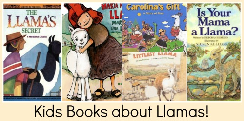 Kids Books about Llamas- Kid World Citizen