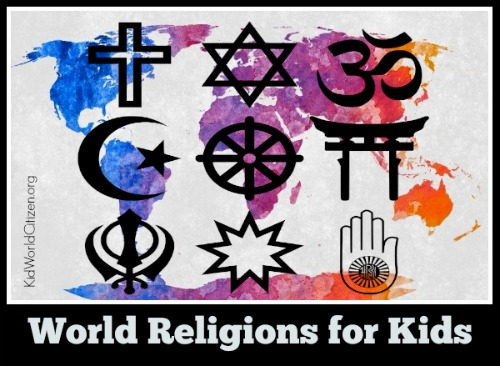 World Religions for Kids- Kid World CItizen