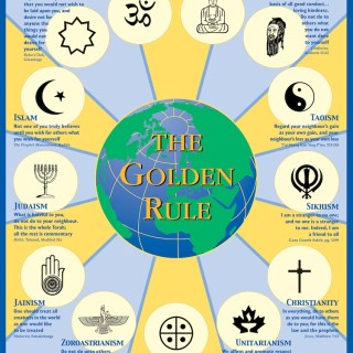 Golden Rule Poster- Kid World Citizen