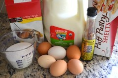 Ingredients Pasteis de Nata- Kid World Citizen