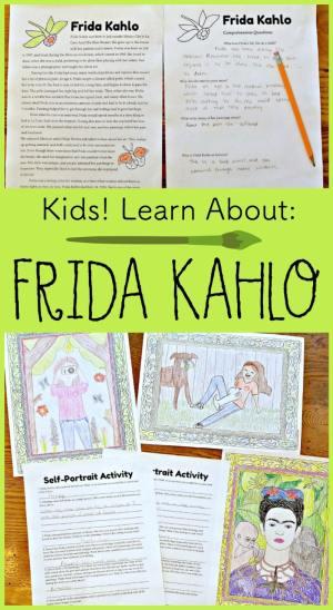 Kids Learn about Frida Kahlo- Kid World Citizen