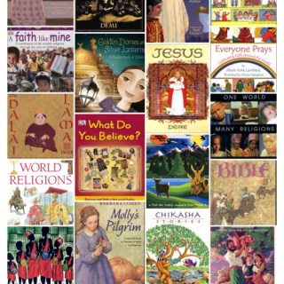60+ Books about World Religions for Kids