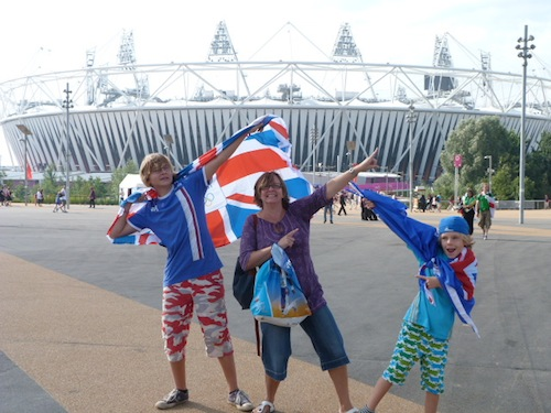 French at London Olympics- Kid World Citizen