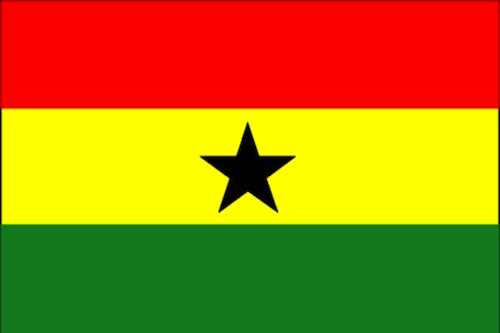 Ghana Flag- Kid World Citizen