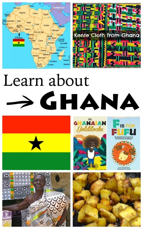 Learn about Ghana- Kid World Citizen