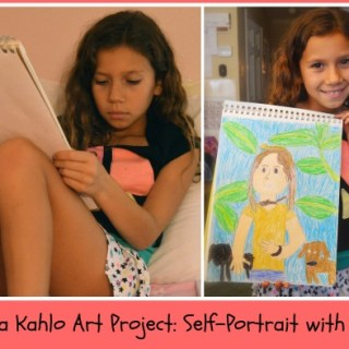 Frida Kahlo Art Project for Kids- Kid World Citizen