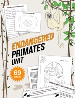 Endangered Species Lesson Kids Primates Activities Kid World Citizen TPT