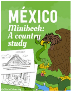 Mexico Booklet Cover Tpt- Kid World Citizen
