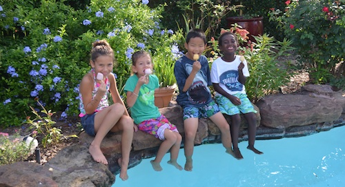 Eating Mexican Popsicles- Kid World Citizen