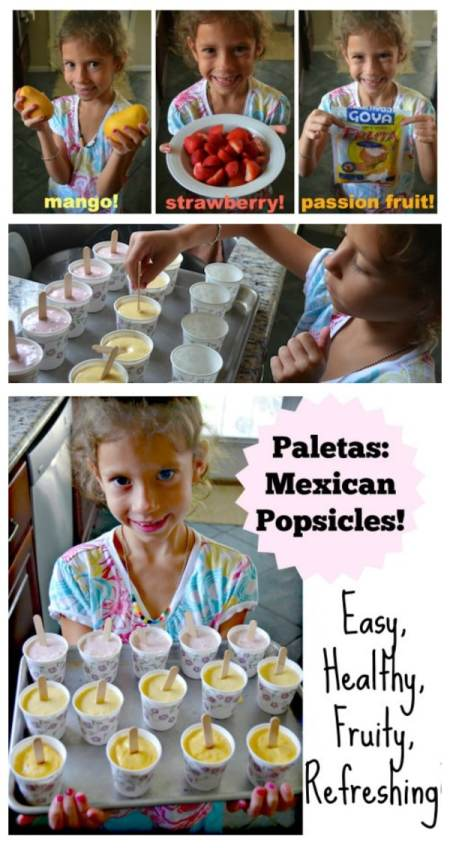 Mexican Popsicles Recipe Kids- Kid World Citizen