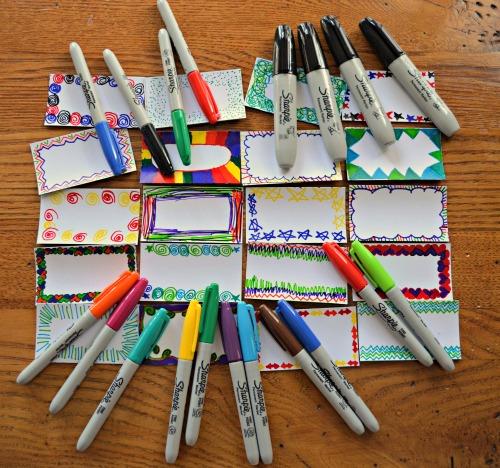 Sharpie Teacher Gift- Kid World Citizen